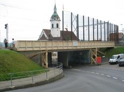 Fussgängerbrücke Walchwil 2012