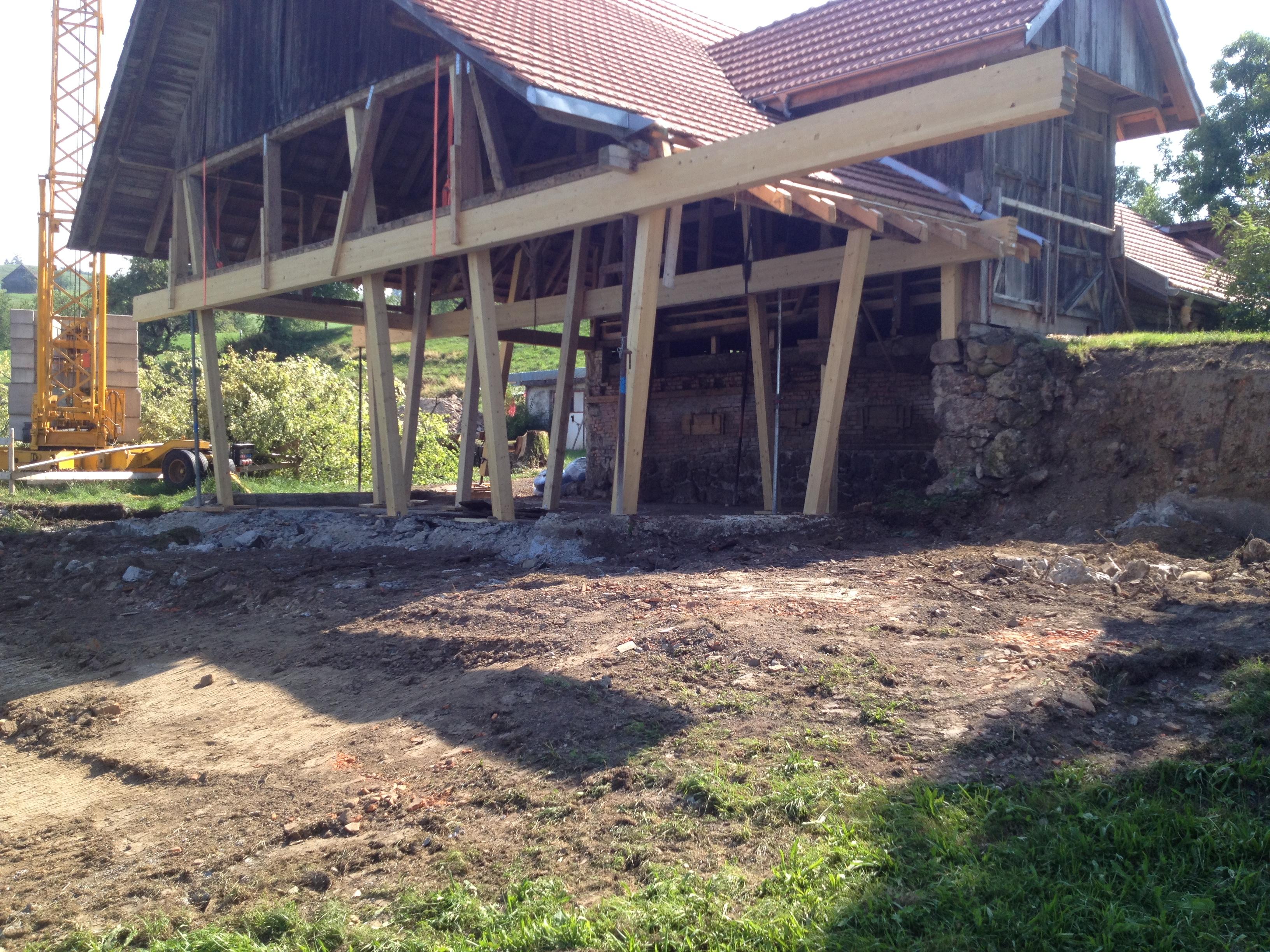 Umbau Stall