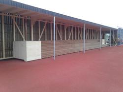 Zuschauertribüne Tennisplatz Lienisberg, Walchwil