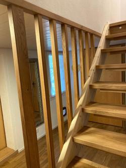 Treppe inkl. Schutz