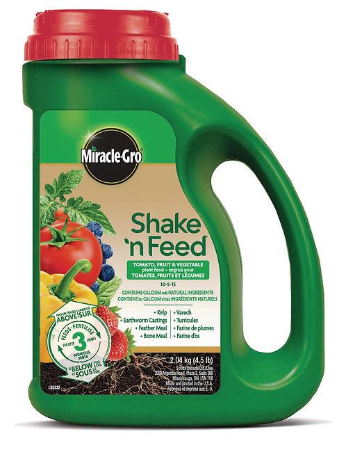 Engrais pour tomates, fruits et légumes Shake'n Feed 2.04kg