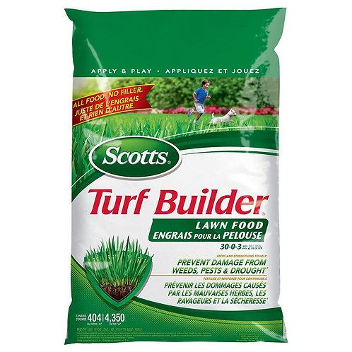 Engrais pour la pelouse Turf Builder 30-0-3