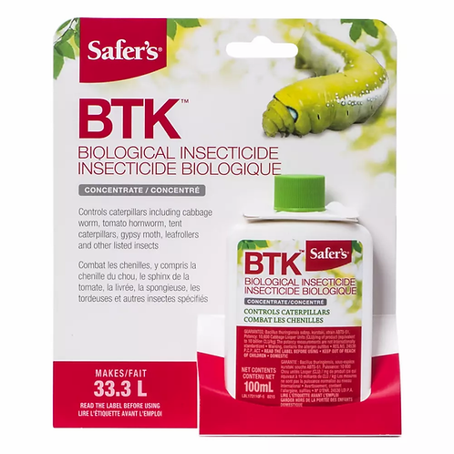 Insecticide biologique Bioprotec BTK 100ml
