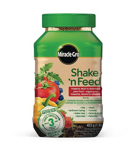 Engrais pour tomates, fruits et légumes Shake'n Feed 453g