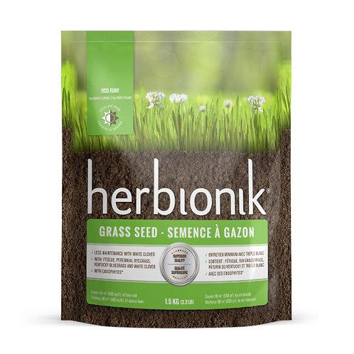 Semences à gazon avec trèfle blanc Herbionik 1.5kg