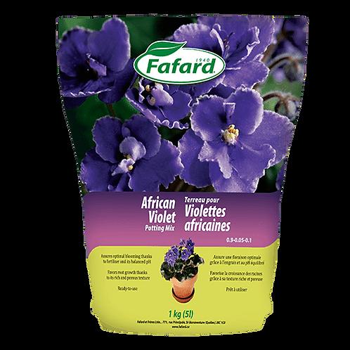 Terreau pour violettes africaines 5L