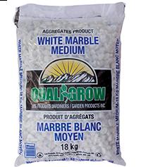Marbre blanc moyen
