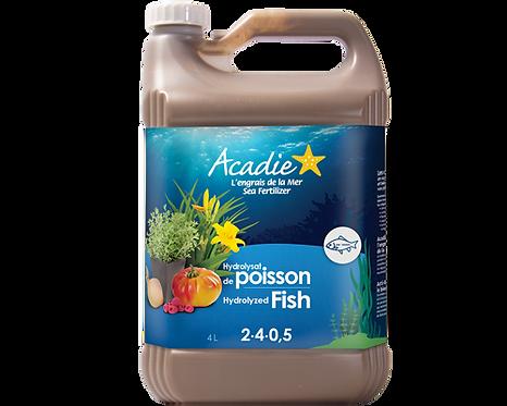 Acadie Hydrolysat de poisson 4L
