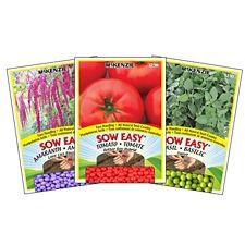 Semences McKenzie Sow Easy Légumes