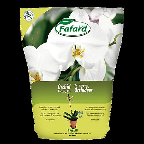Terreau pour orchidées 5L