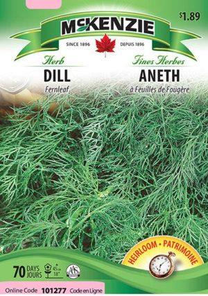 Semences McKenzie fines herbes