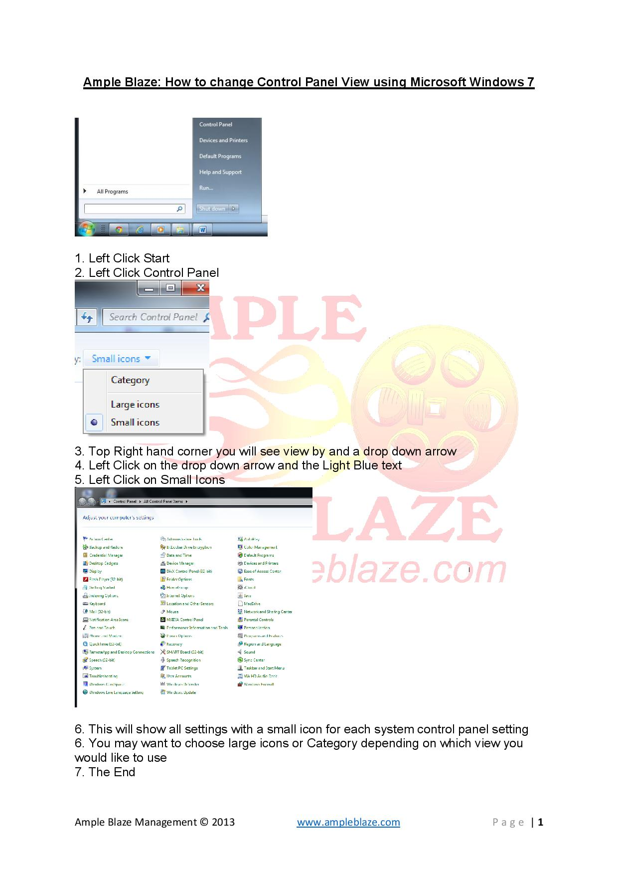 Ample Blaze How to Change Control Panel View-page-001