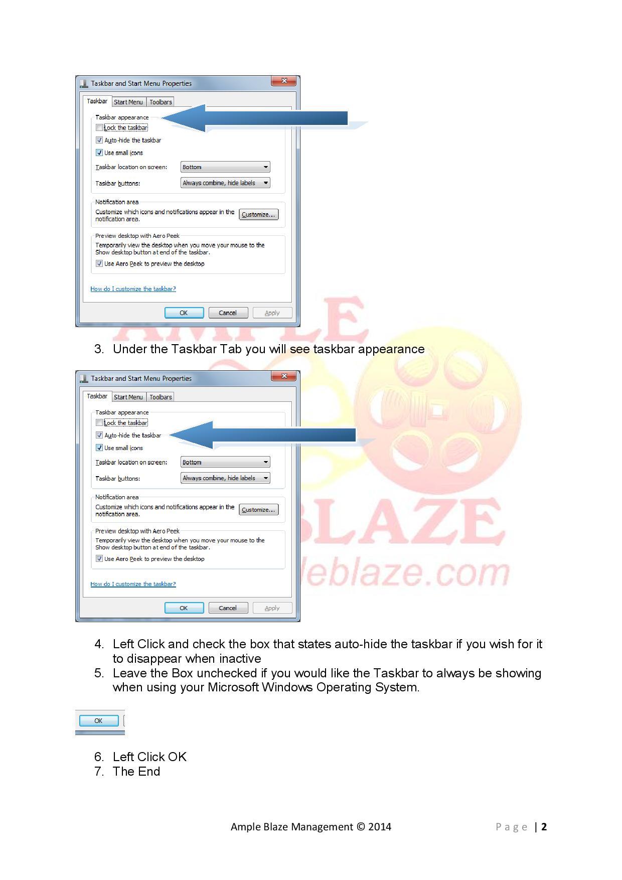 Ample Blaze How to Hide Unhide Taskbar Windows 7-page-002