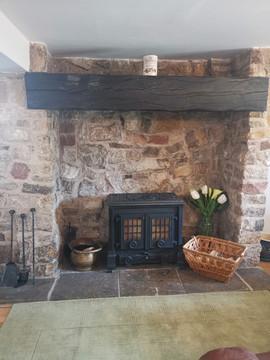 Lounge log burner