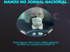 Nanox no Jornal Nacional