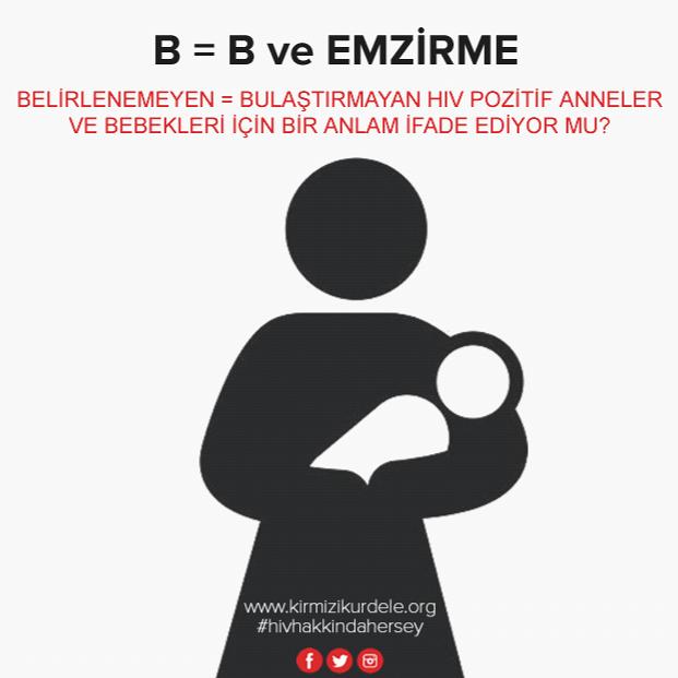 www.kirmizikurdele.org I HIV, B = B ve emzirme