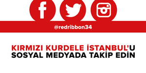 Kırmızı Kurdele İstanbul sosyal medya hesapları