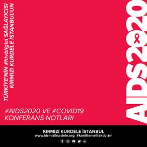 Kırmızı Kurdele İstanbul'un #AIDS2020Virtual konferans notları
