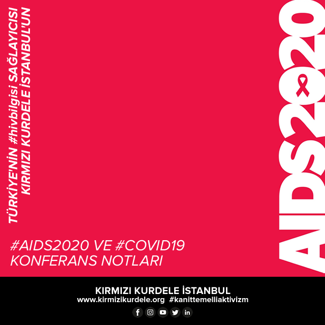 Kırmızı Kurdele İstanbul I AIDS2020 notları