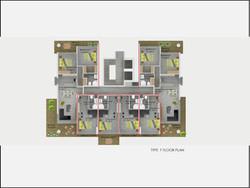 Type F Floor Plan Abelia Residence