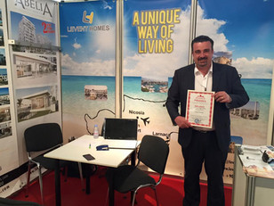 Levent Homes participates in the Finland and Ukraine International property shows