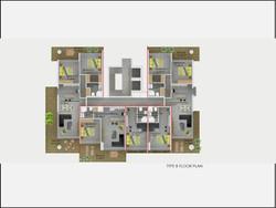 Type B Floor Plan Abelia Residence