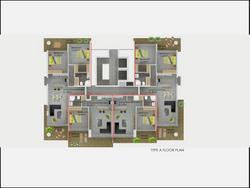 Type A Floor Plan Abelia Residence
