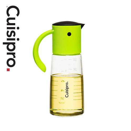 Cuisipro 自動開合玻璃油壺 300ml - 綠色