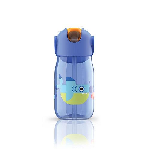 ZOKU - 兒童飲管水樽(藍色 14oz / 400ml)