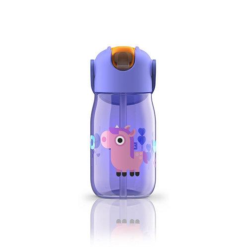ZOKU - 兒童飲管水樽(紫色 14oz / 400ml)