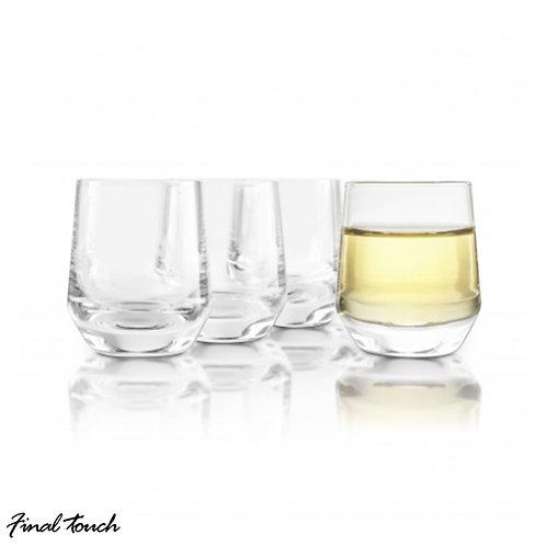 Final Touch 水晶日本酒清酒杯 37ml(4隻裝)