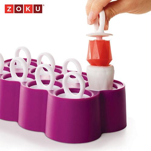 ZOKU鑽戒冰棒模具組 (八入裝)