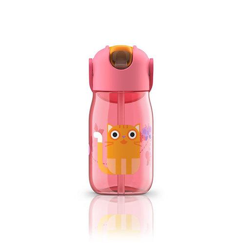 ZOKU - 兒童飲管水樽(紅色 14oz / 400ml)