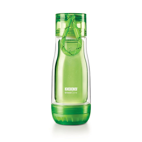 ZOKU - 綠色玻璃膽水樽 (12oz / 350ml)