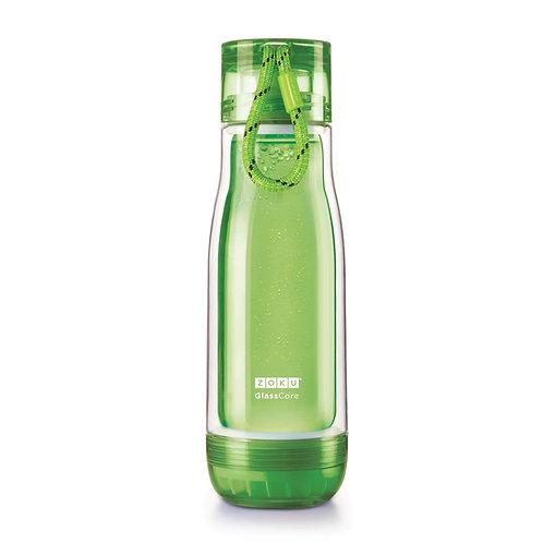 ZOKU - 綠色玻璃膽水樽(16oz / 470ml)