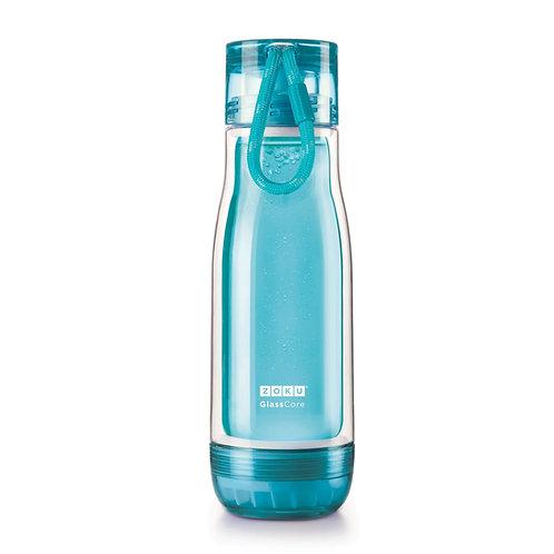 ZOKU - 淺藍色玻璃膽水樽(16oz / 470ml)