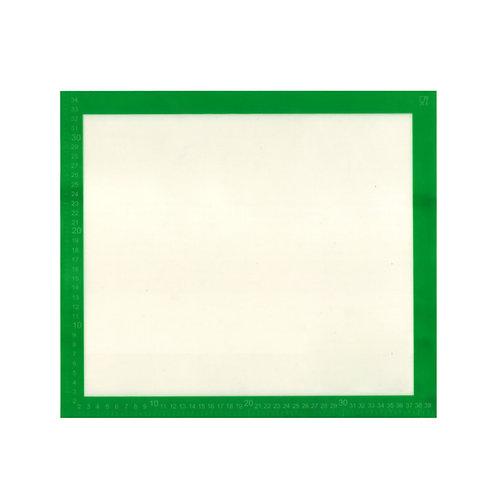 Dr. Cook 矽膠玻璃纖維烘焙焗爐揉麵不粘墊 40cm x 35cm(附刻度)