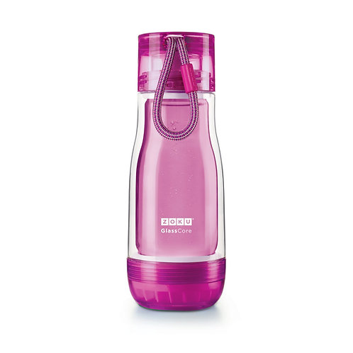 ZOKU - 紫色玻璃膽水樽 (12oz / 350ml)