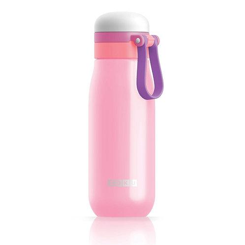 ZOKU 超輕不鏽鋼水樽 500ml - 粉紅色