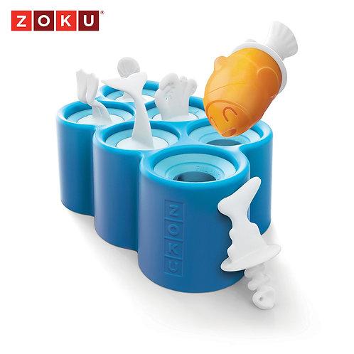 ZOKU小魚造型冰棒模具組 (六入裝)