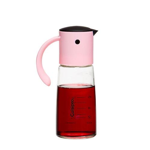 Cuisipro 自動開合玻璃油壺 350ml - 粉紅色