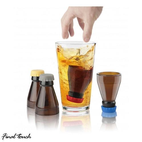Final Touch 樽頸造型烈酒杯 30ml(4隻裝)