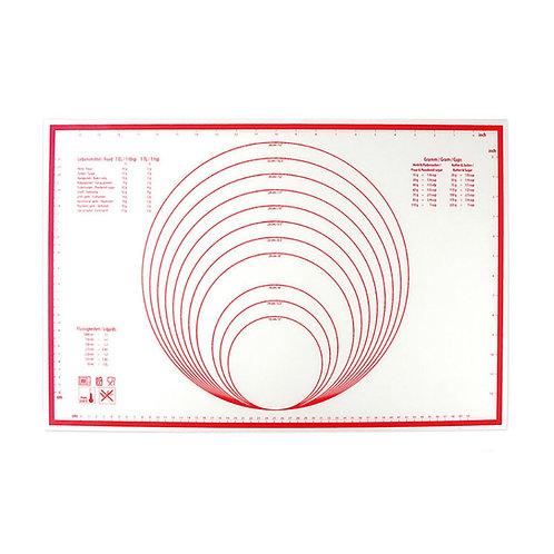 Dr. Cook 矽膠烘焙揉麵不粘墊 60cm x 40cm(附刻度和容量轉換表)