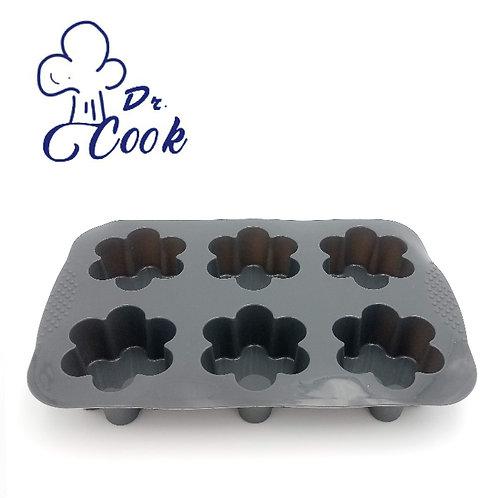 Dr. Cook 矽膠花形蛋糕仔鬆餅烘焙模具焗盤