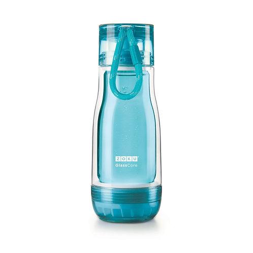 ZOKU - 淺藍色玻璃膽水樽 (12oz / 350ml)