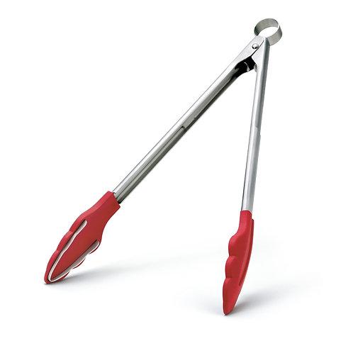 Cuisipro 大鋼牙矽膠可鎖夾鉗 - 紅大