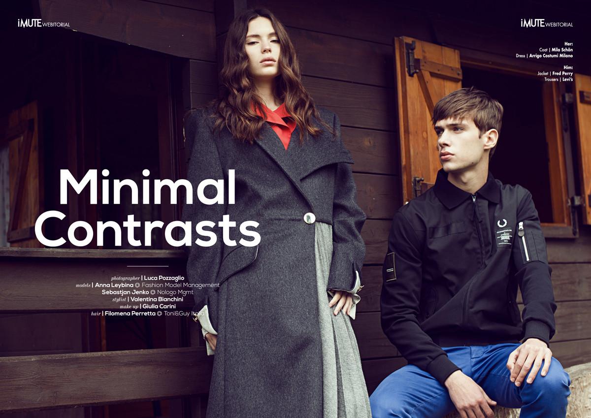 Mininal Contrast - iMUTE Magazine