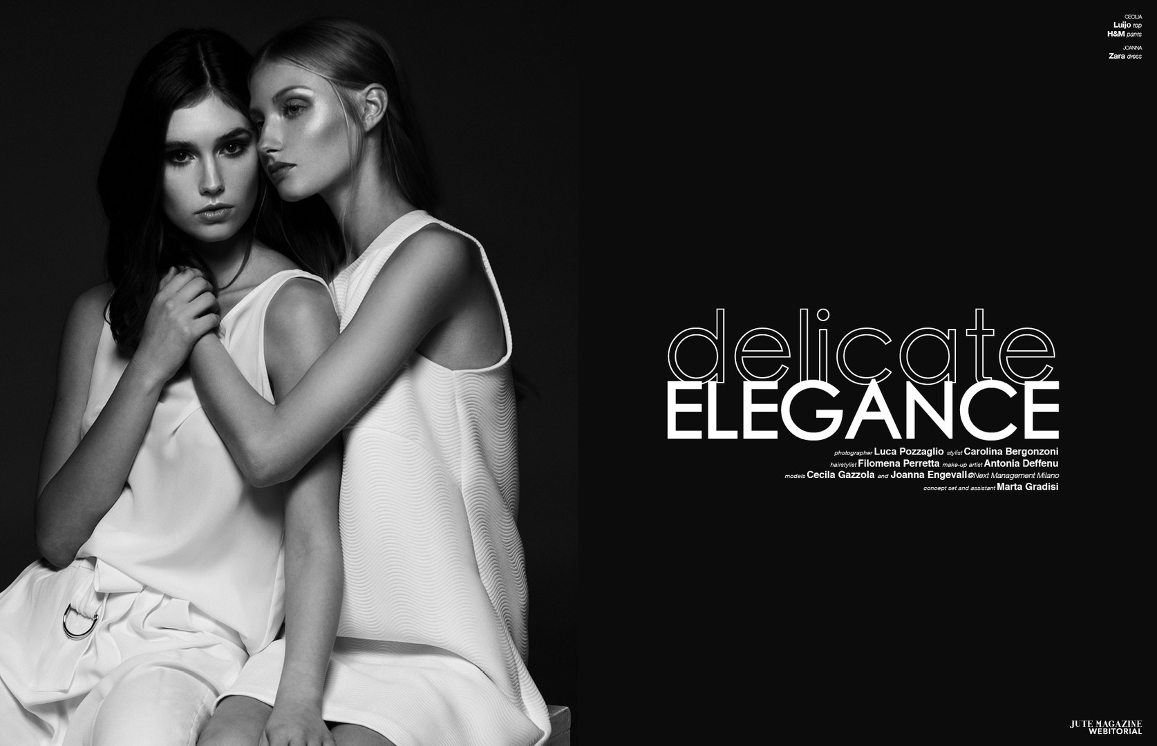 Delicate Elegance - Jute Magazine