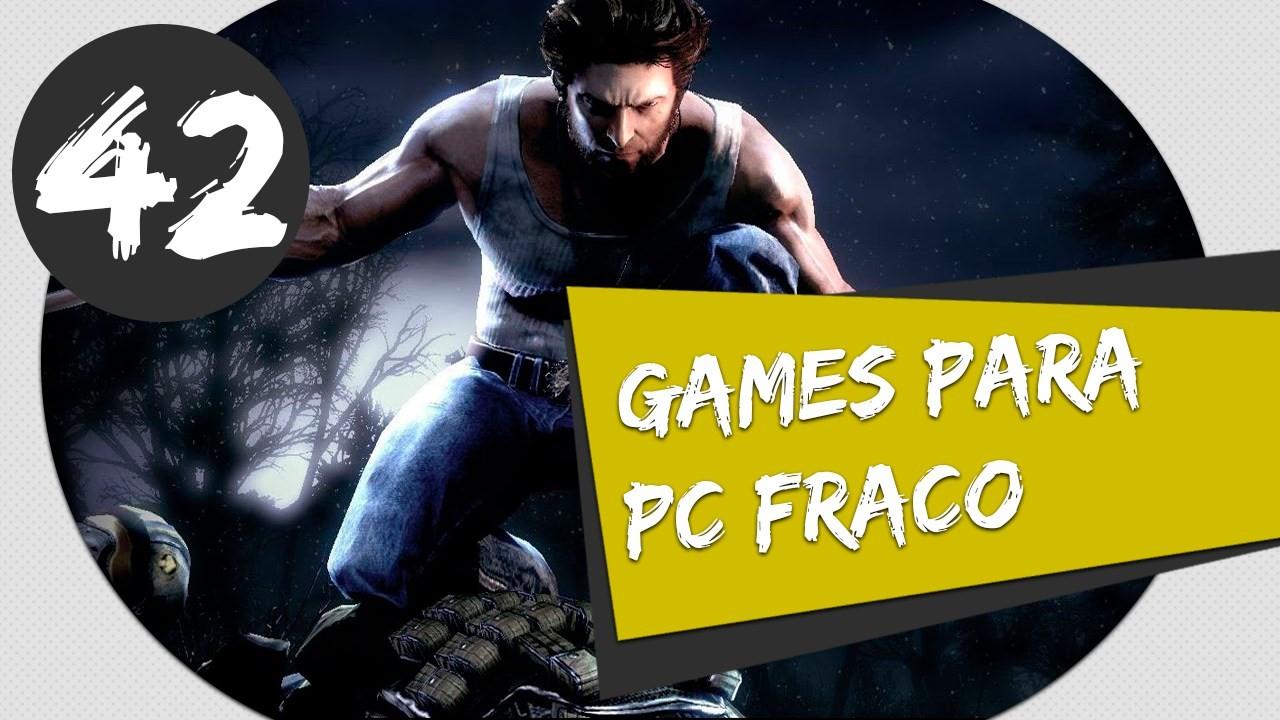 GAMES PARA PC FRACO X-MEN ORIGINS WOLVERINE