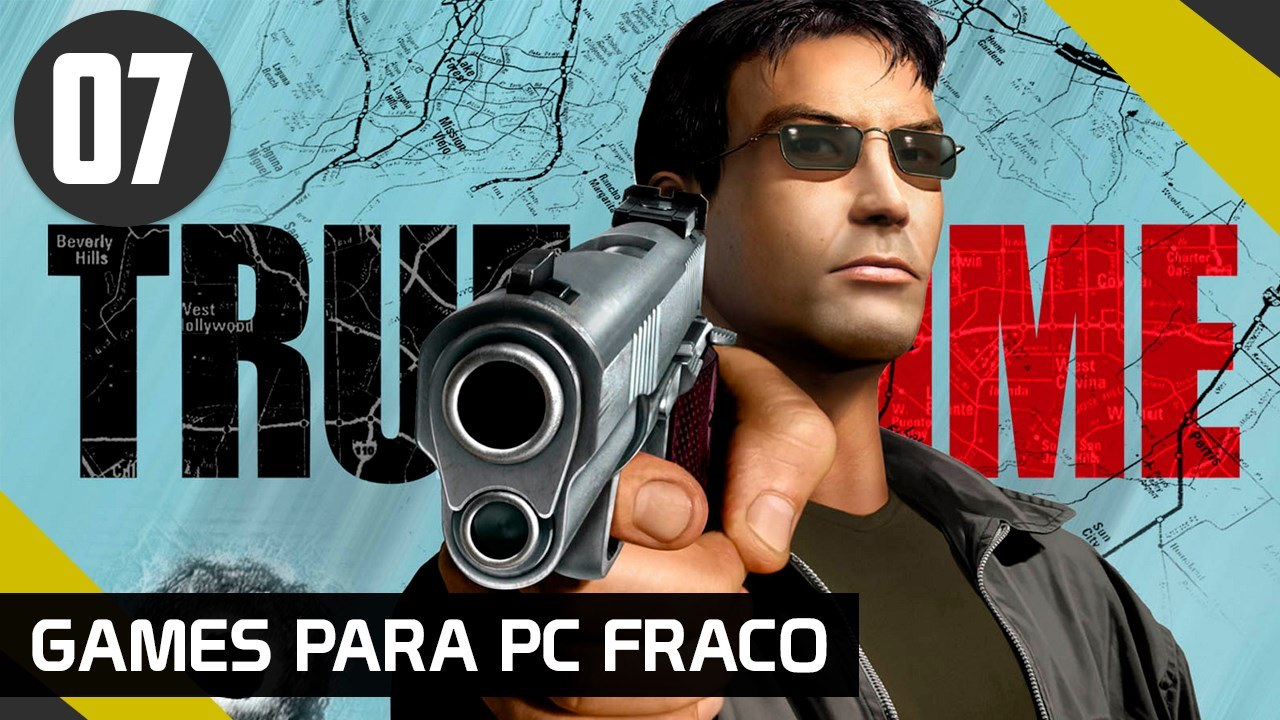 TRUE CRIME STATES OF LA - GAMES PARA PC FRACO